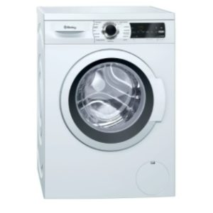 Lavadora carga frontal color blanco Balay 8 kilos 1200 rpm A+++