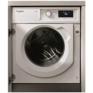 Lavadora secadora integrable Whirlpool de 8/6 Kg y 1.400 rpm