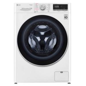 Lavasecadora inteligente LG 8/5kg, 1400rpm, A, Blanca, Serie 4
