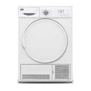 Secadora condensación NEWPOL 7 kilos. Color blanco.