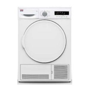 Secadora condensación NEWPOL 8 kilos, color blanco.
