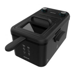 Freidora eléctrica 3 litros Cecotec color negro