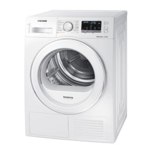 Secadora Samsung DV80M5010QW/EC, Bomba de calor, 8 KG, Clase A++, Blanco