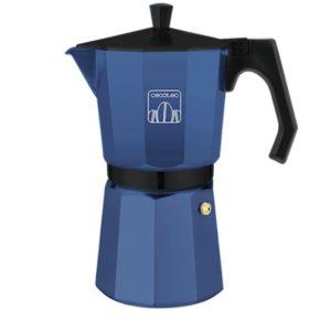 Cafetera italiana moka Cumbia Mimoka 600 blue Cecotec
