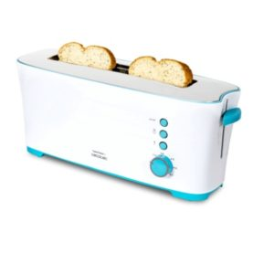 Tostadora de pan Cecocet 2 ranuras extralarga 1350W